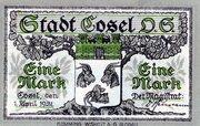 1 Mark (Cosel) – obverse