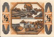 ½ Mark (Kandrzin-Pogorzelletz) – reverse