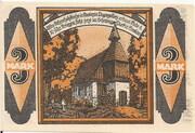 3 Mark (Kandrzin-Pogorzelletz) – reverse