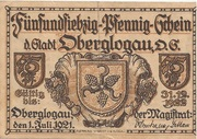 75 Pfennig (Oberglogau) – obverse