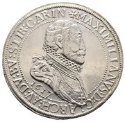 1 Thaler - Maximilian III (Ensisheim) – obverse