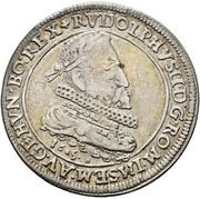 1 Thaler - Rudolf II (Ensisheim) – obverse