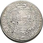 1 Thaler - Rudolf II (Ensisheim) – reverse