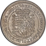 1 Thaler - Leopold V – reverse