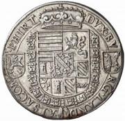 1 Thaler - Archduke Ferdinand II – reverse