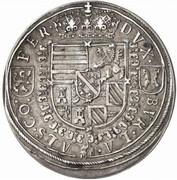 2 Thaler - Ferdinand II of tyrol – reverse