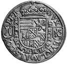 ¼ Thaler - Ferdinand II of Tyrol – reverse