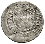 1 Vierer - Rudolf II – obverse