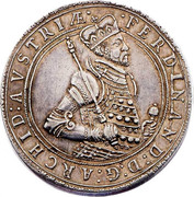 2 Thaler - Ferdinand II of tyrol – obverse