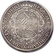 2 Thaler - Rudolf II – reverse