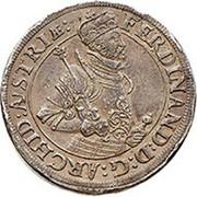 2 Thaler - Ferdinand II. of tyrol – obverse