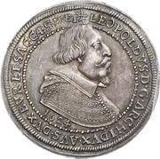 1 Thaler - Leopold V – obverse