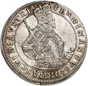 1 Thaler - Ferdinand II du Tyrol – obverse