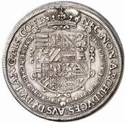1 Thaler - Rudolf II – reverse