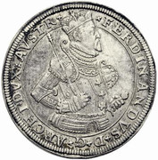 1 Thaler - Archduke Ferdinand II of Tyrol – obverse