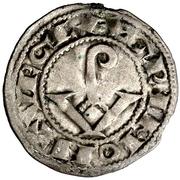 Dinero (Armengol VIII, Agramunt) – obverse