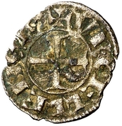 Obolo (Gerardo IV de Cabrera, Balaguer) – obverse