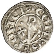 Dinero (Ponce I, Agramunt) – reverse