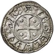 Dinero (Ponce I, Agramunt) – obverse