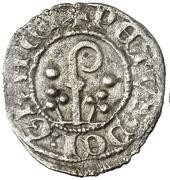 Dinero - Pedro II de Urgel (Agramunt) – obverse