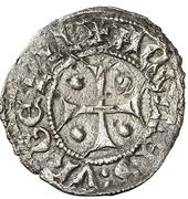 Dinero (Pedro II de Urgel, Agramunt) – obverse