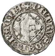 Dinero (Pedro II de Urgel, Barcelona) – reverse
