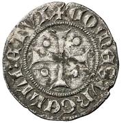 Dinero (Pedro II de Urgel, Barcelona) – obverse
