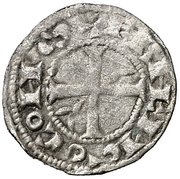 Obolo (Armengol VIII, Agramunt) – reverse