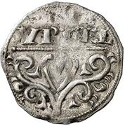 Dinero (Pedro II de Aragon, Lleida) – obverse