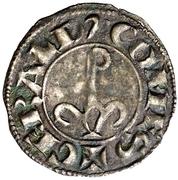 Dinero (Gerardo IV de Cabrera, Balaguer) – reverse
