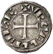 Dinero (Gerardo IV de Cabrera, Balaguer) – obverse
