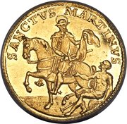 Ducat (Trade coinage) – reverse
