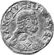 Dicken (Countermarked) – obverse