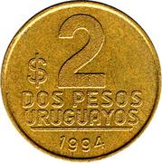 2 Pesos Uruguayos -  reverse