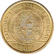 2 Pesos Uruguayos (Carpincho) -  obverse
