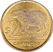 2 Pesos Uruguayos (Carpincho) -  reverse