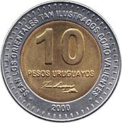 10 Pesos Uruguayos -  reverse