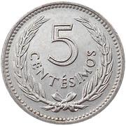5 Centésimos – reverse
