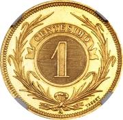 1 Centesimo (Pattern) – reverse