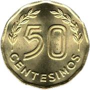50 Centésimos -  reverse
