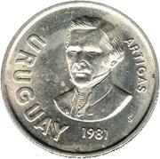 10 Nuevos Pesos -  obverse