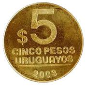 5 Pesos Uruguayos -  reverse