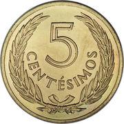 5 Centésimos -  reverse