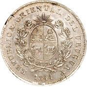 1 Peso Fuerte (Peso del Sitio) – obverse