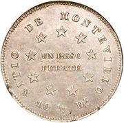 1 Peso Fuerte (Peso del Sitio) – reverse