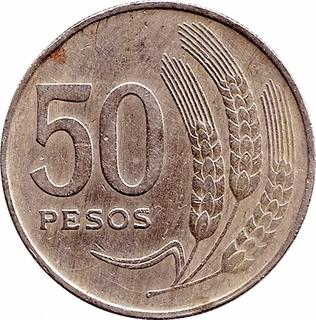 5 peso coin 1975 value 2020