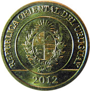 1 Peso Uruguayo (Mulita) -  obverse