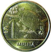 1 Peso Uruguayo (Mulita) -  reverse