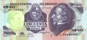 50 Nuevos pesos – obverse