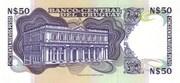 50 Nuevos pesos – reverse